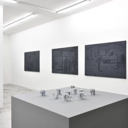 John Miller: Walking in the City @Praz-Delavallade, Paris  - GalleriesNow.net