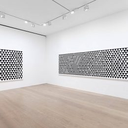 Bridget Riley: Recent Paintings 2014-2017 @David Zwirner, London, London  - GalleriesNow.net