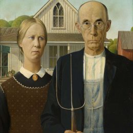 Grant Wood: American Gothic and Other Fables @Whitney Museum, New York  - GalleriesNow.net