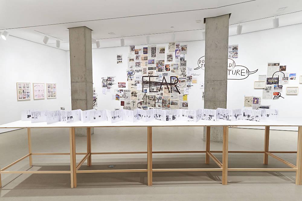 Jane Lombard Gallery Dan Perjovschi 2