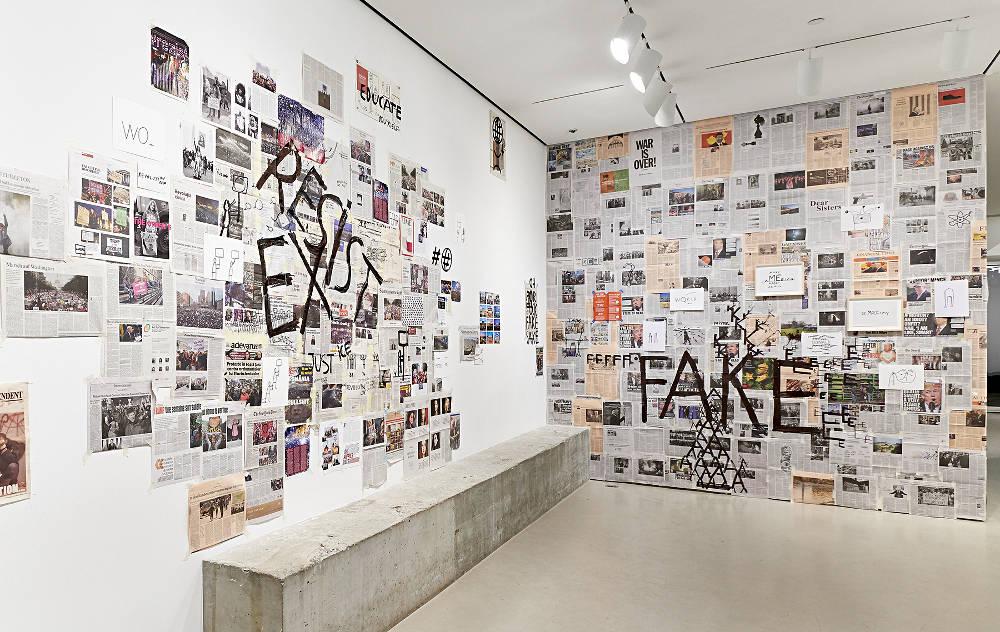 Jane Lombard Gallery Dan Perjovschi 4