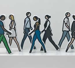 Julian Opie @Alan Cristea Gallery, London  - GalleriesNow.net