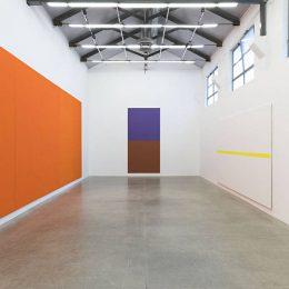 Olivier Mosset @Massimo De Carlo, Milan, Milan  - GalleriesNow.net