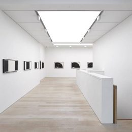 Richard Serra: Black and White @Alan Cristea Gallery, London  - GalleriesNow.net