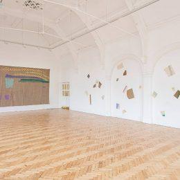 Giorgio Griffa: A Continuous Becoming @Camden Arts Centre, London  - GalleriesNow.net