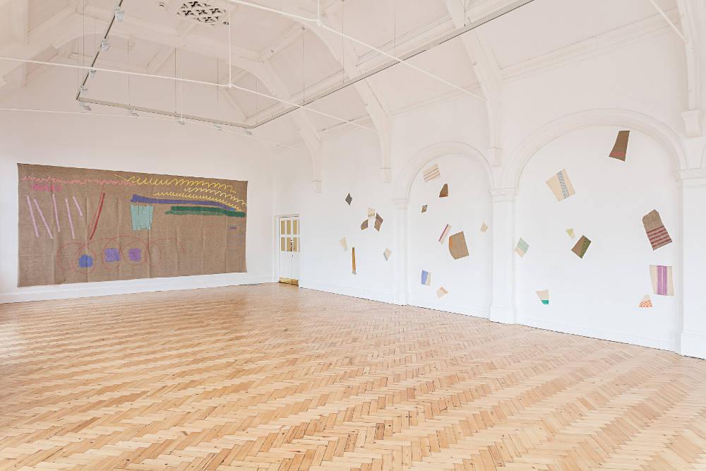 Camden Arts Centre Giorgio Griffa 1