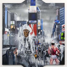 Chris Daze Ellis: Daily Commute @P.P.O.W, New York  - GalleriesNow.net