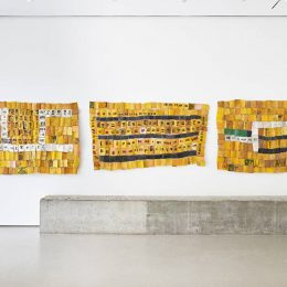 Serge Attukwei Clottey: Differences between @Jane Lombard Gallery, New York  - GalleriesNow.net