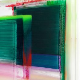 Nicola Staeglich: Selbstbildnis in Farbe @FeldbuschWiesnerRudolph, Berlin  - GalleriesNow.net