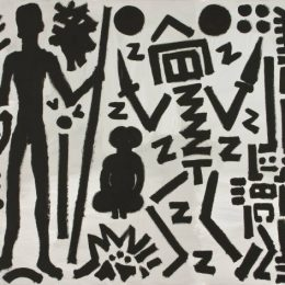A.R. Penck: Paintings from the 1980s and Memorial to an Unknown East German Soldier @Michael Werner Gallery, Mayfair, London  - GalleriesNow.net