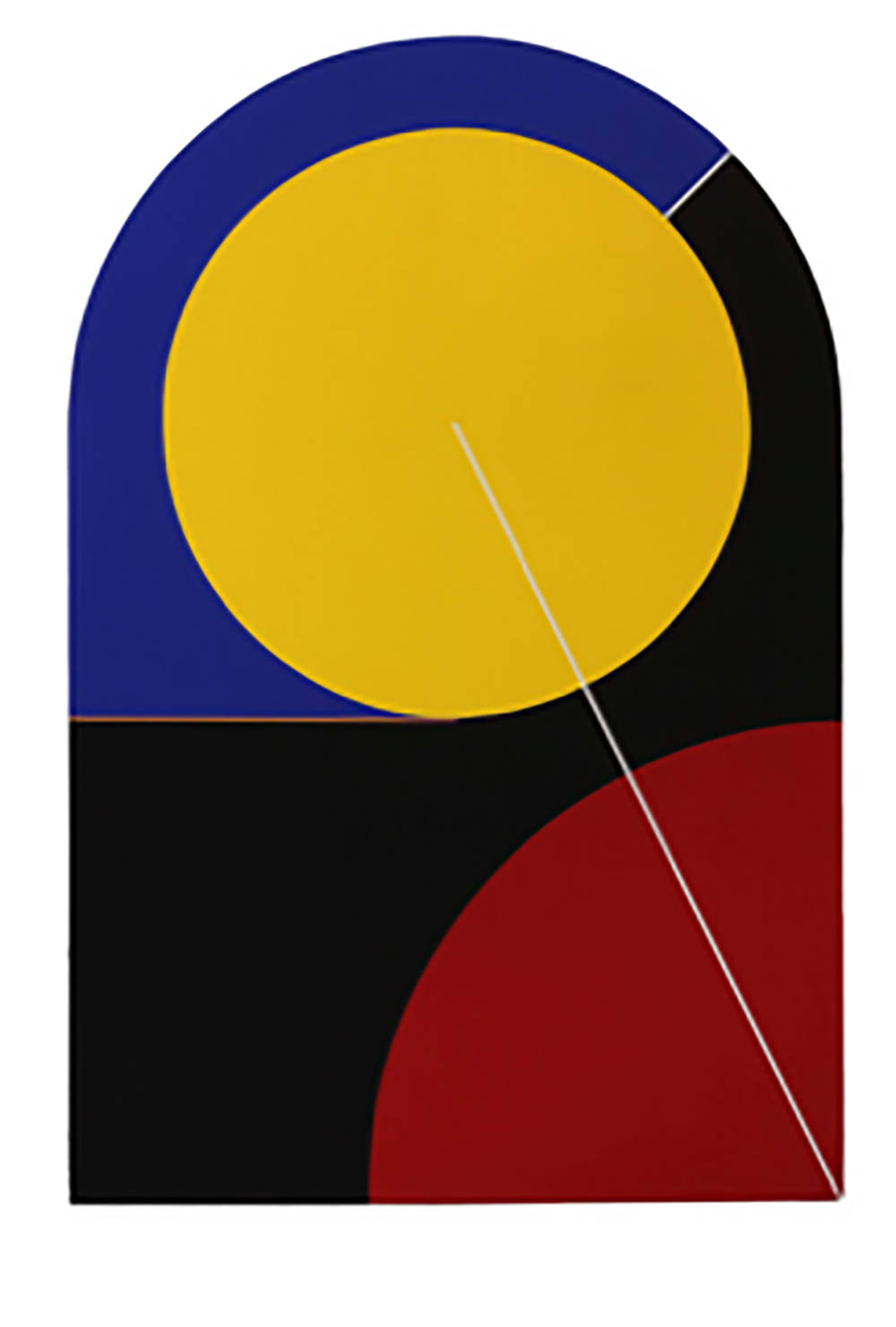Leo Valledor, Pow Wow Now, 1980. Acrylic on canvas 72 x 48 in