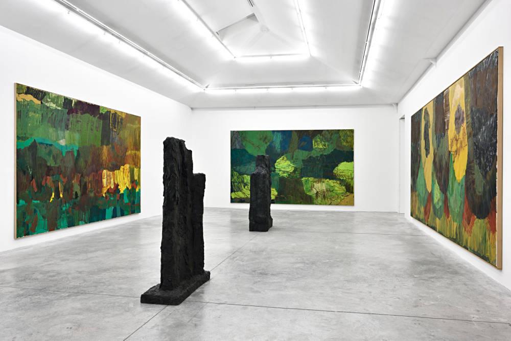Almine Rech Gallery Paris Per Kirkeby 1