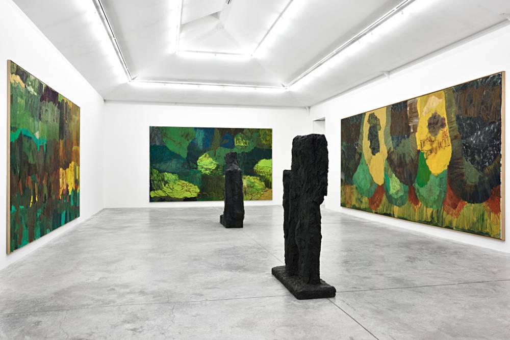 Almine Rech Gallery Paris Per Kirkeby 2