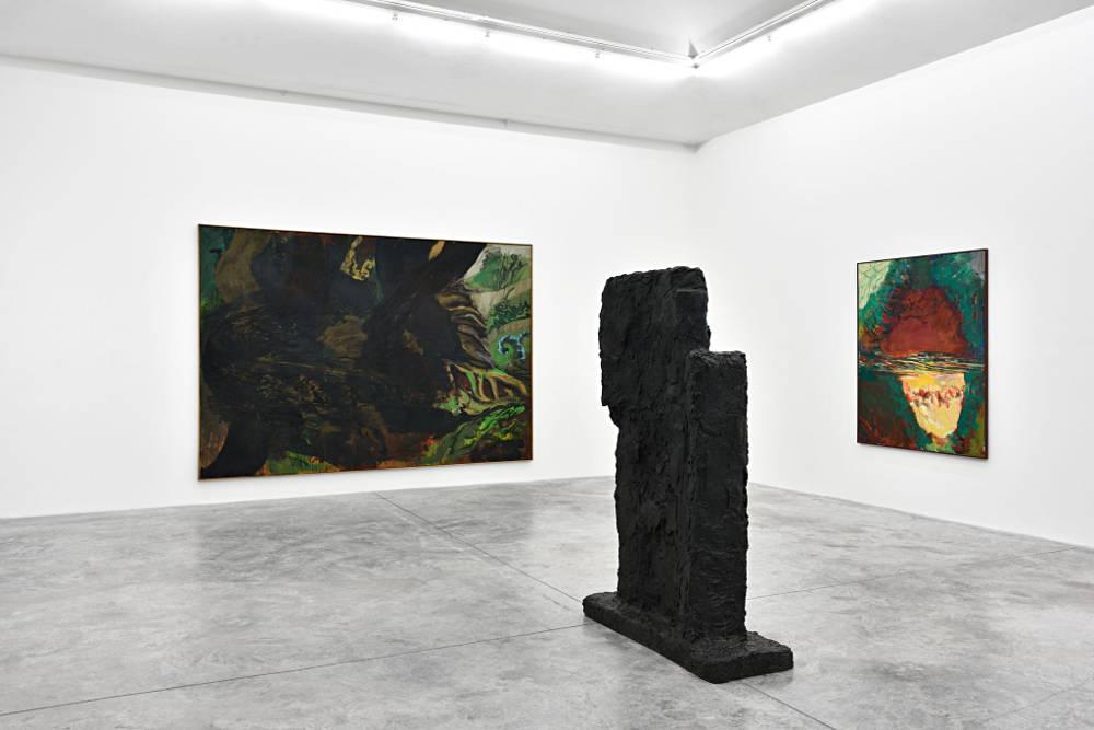 Almine Rech Gallery Paris Per Kirkeby 3