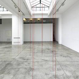 Fred Sandback @Cardi Gallery, Milan, Milan  - GalleriesNow.net