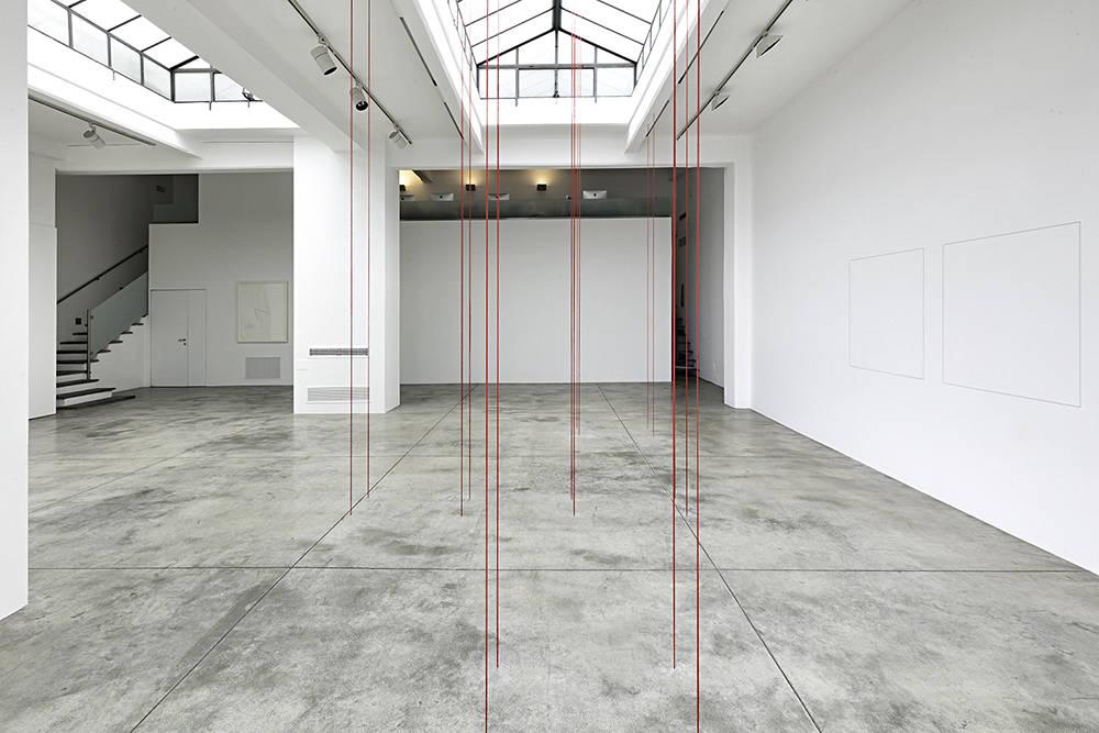 Cardi Gallery Milan Fred Sandback 1