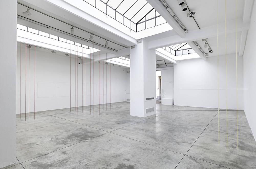 Cardi Gallery Milan Fred Sandback 6