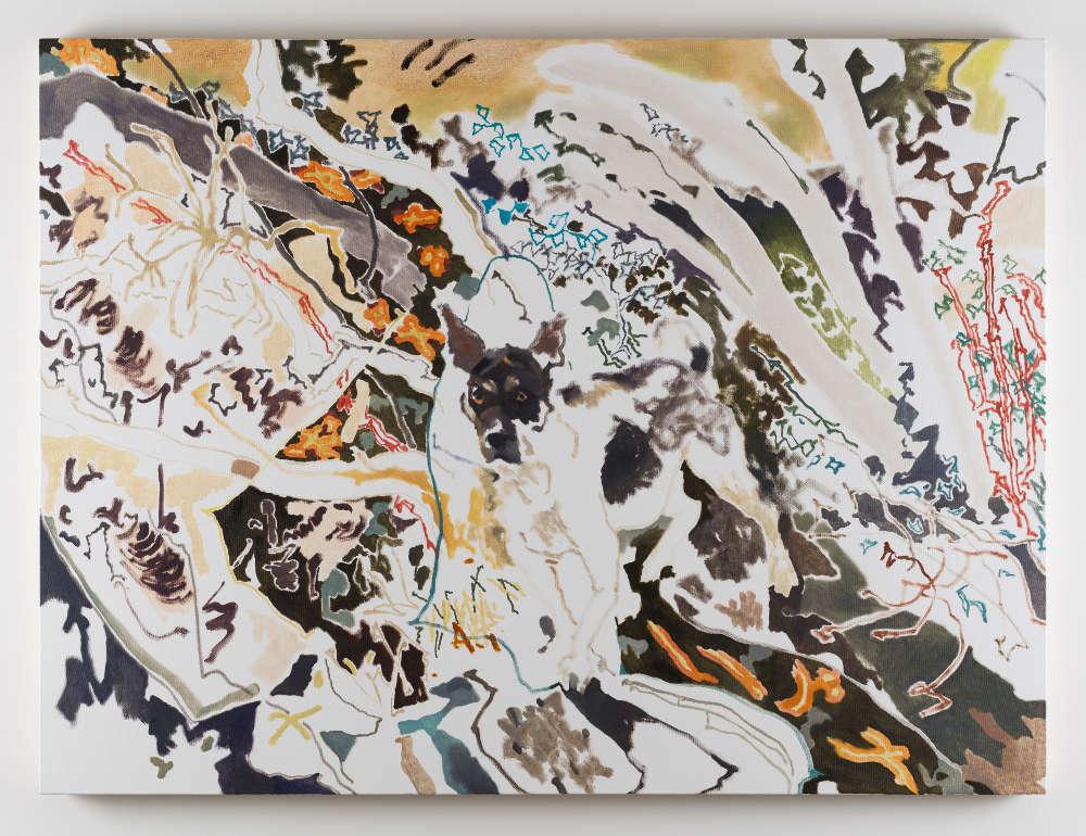 Chris Huen Sin Kan, Balltsz, 2018. Oil on canvas 120x160cm