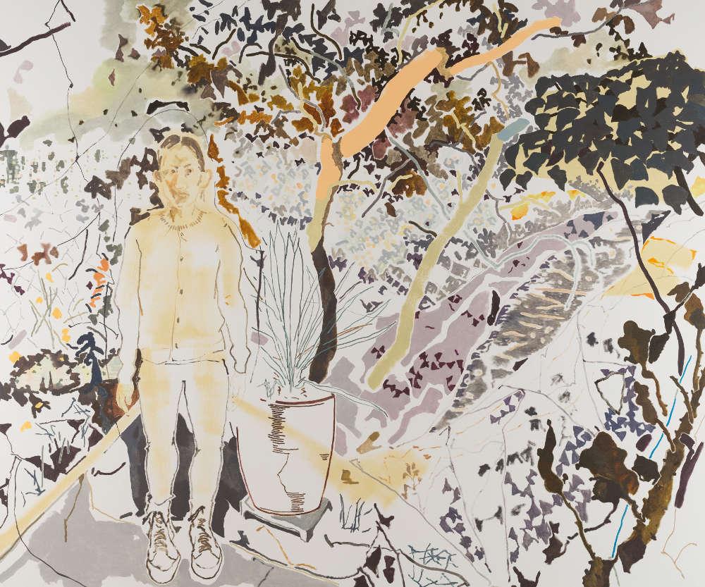 Chris Huen Sin Kan, Haze, 2018. Oil on canvas 200 x 240 cm (78 3/4 x 94 1/2 in.)
