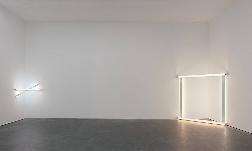 David Zwirner 20th St Dan Flavin 4