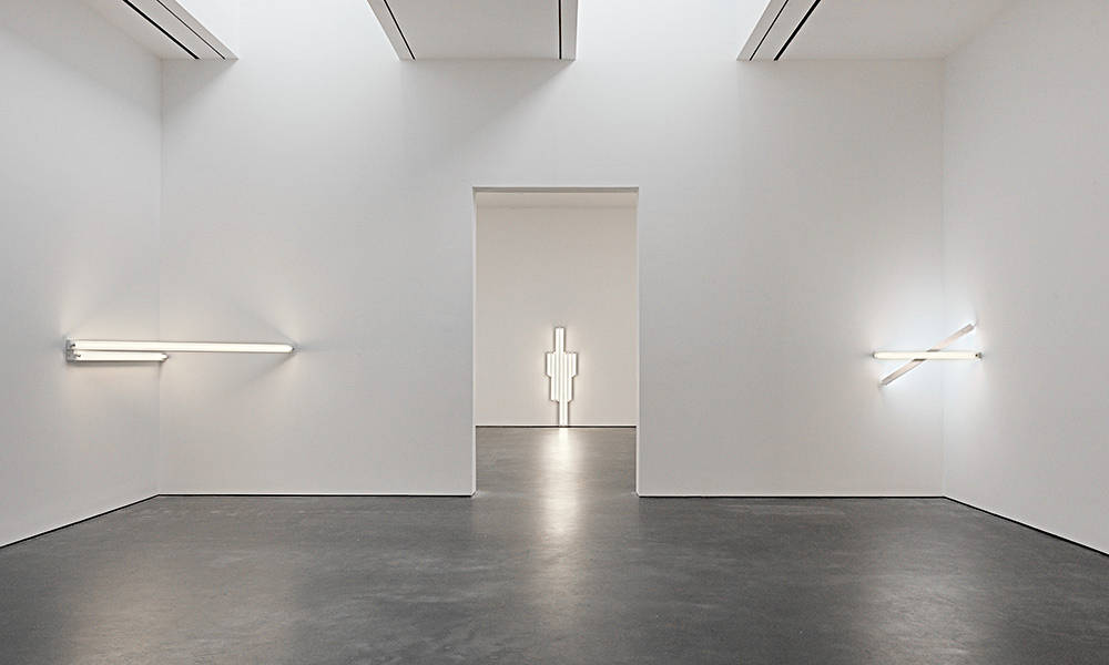 David Zwirner 20th St Dan Flavin 5
