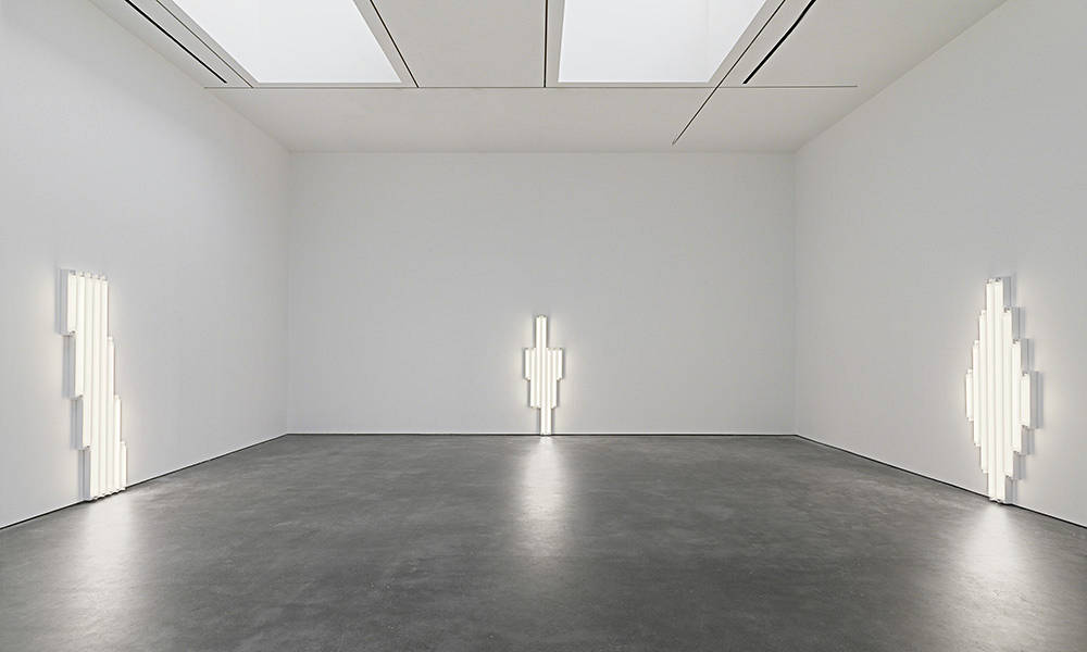 David Zwirner 20th St Dan Flavin 6