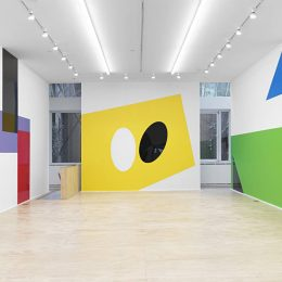 Gerwald Rockenschaub: geometric playground (flamboyant edit) @Eva Presenhuber, New York, New York  - GalleriesNow.net