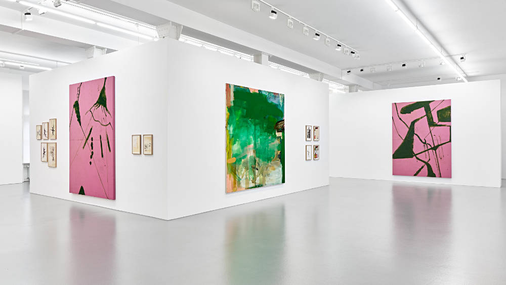 Galerie Max Hetzler Goethestr Oehlen Schnabel 1