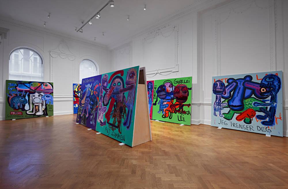 Galerie Thaddaeus Ropac London Bjarne Melgaard 1
