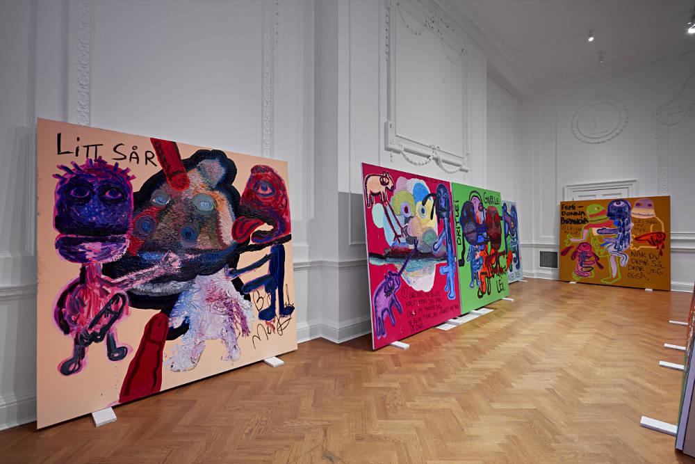 Galerie Thaddaeus Ropac London Bjarne Melgaard 2
