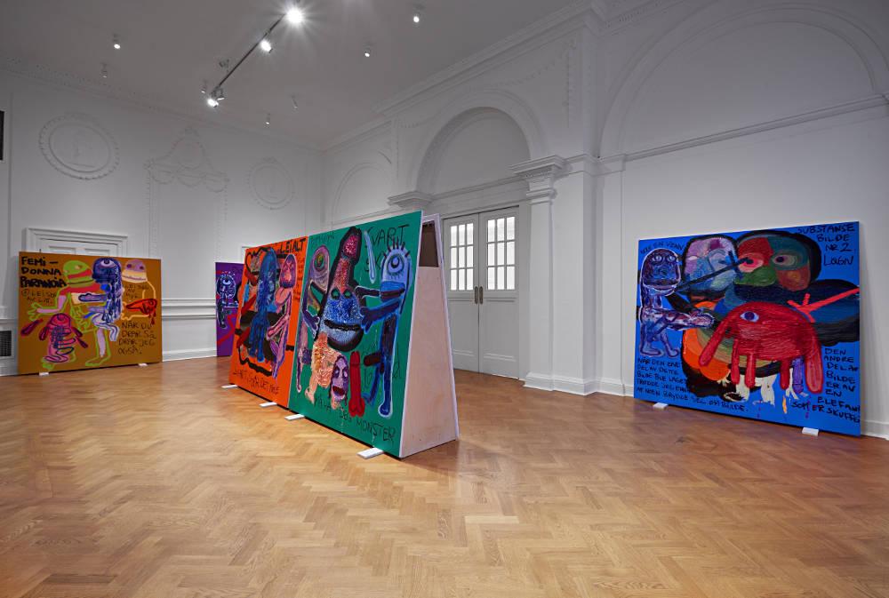 Galerie Thaddaeus Ropac London Bjarne Melgaard 3