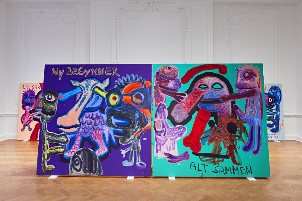 Galerie Thaddaeus Ropac London Bjarne Melgaard 4