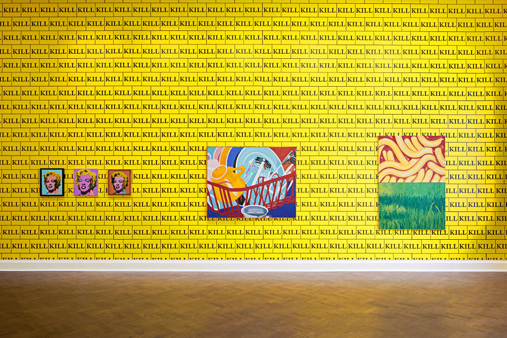 Galerie Thaddaeus Ropac London Sturtevant 4