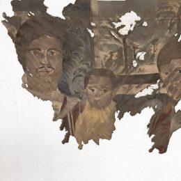 Latifa Echakhch: Les figures @kamel mennour, r. Saint-André des arts, Paris  - GalleriesNow.net