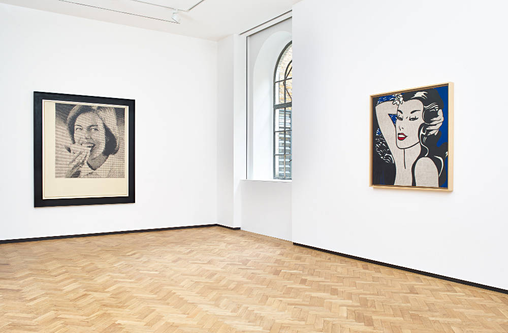 Levy Gorvy London Polke Lichtenstein Laing 2