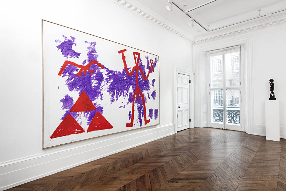 Michael Werner Gallery London A R Penck 1