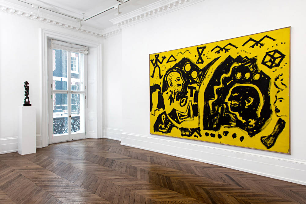 Michael Werner Gallery London A R Penck 2