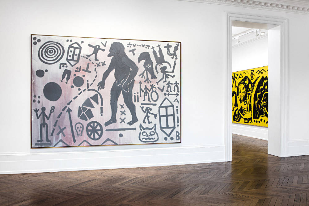 Michael Werner Gallery London A R Penck 4