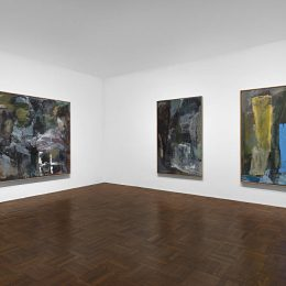 Per Kirkeby: Paintings and Bronzes from the 1980s @Michael Werner, Upper East Side, New York  - GalleriesNow.net