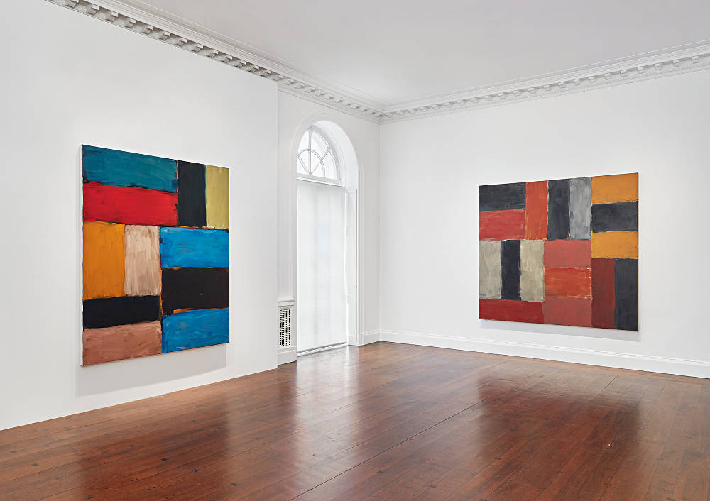 Mnuchin Gallery Sean Scully 4