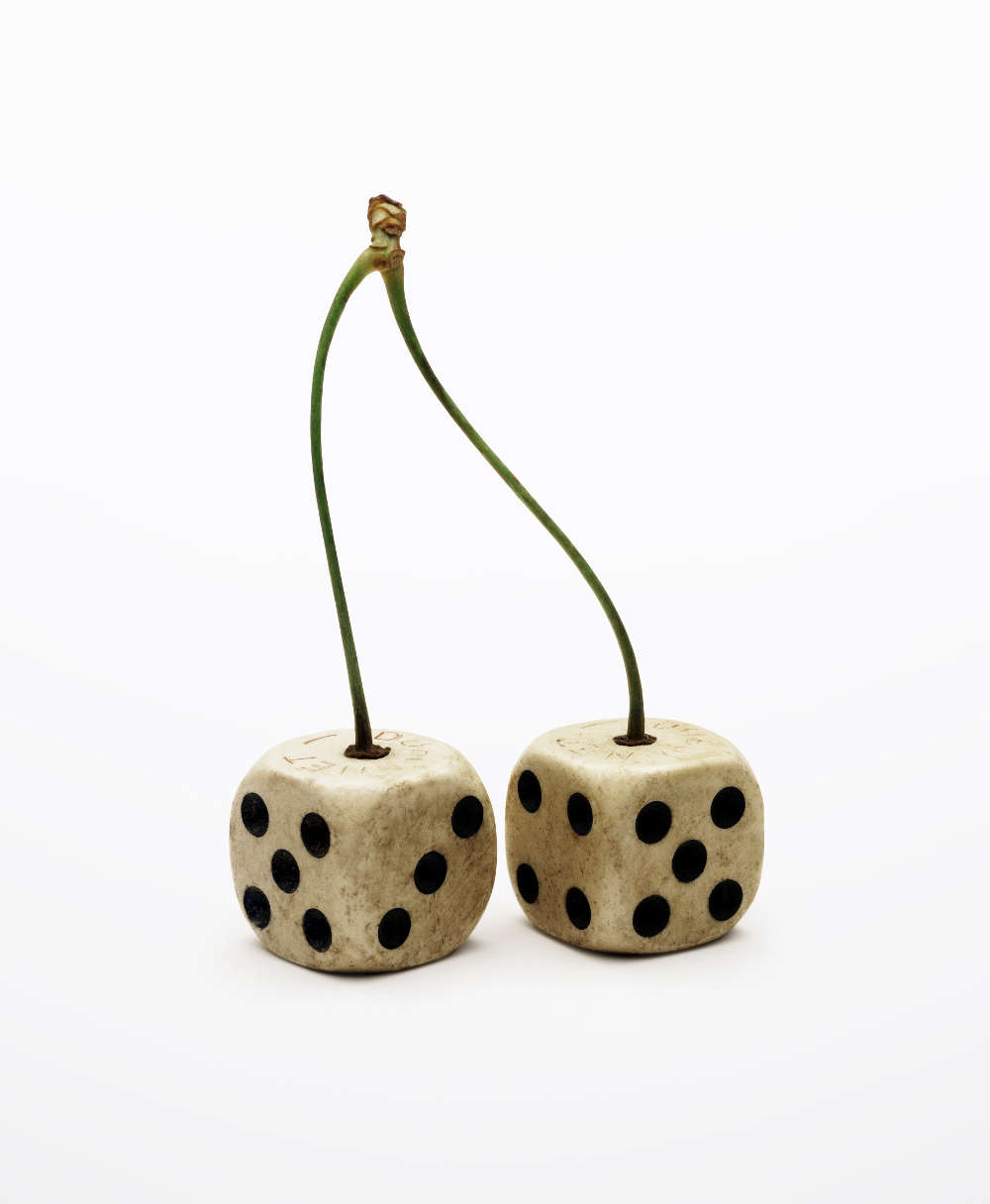 Nancy Fouts, Cherry Dice, 2011 (c) Nancy Fouts, courtesy of Flowers Gallery