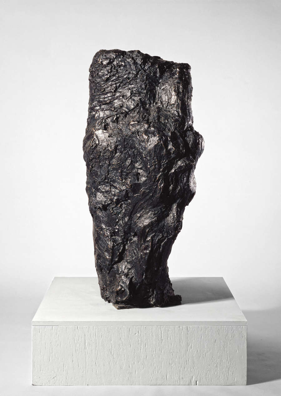 "Per Kirkeby, ""Neuer Læsø-Kopf (New Læsø-Head)"", 1984. Bronze. From an edition of 6 + 1 AP. 45 1/4 x 18 1/2 x 24 inches 115 x 47 x 61 cm"