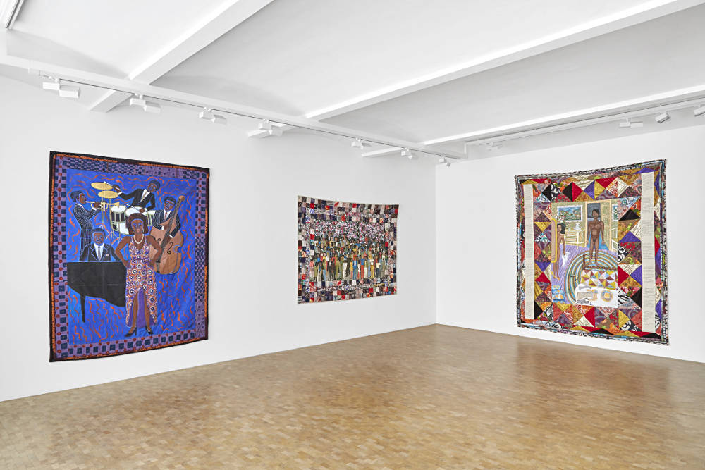 Pippy Houldsworth Gallery Faith Ringgold 3