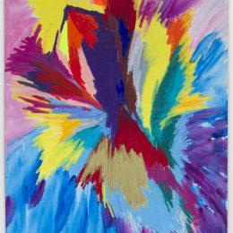 Sarah Cain: Wild Flower @Timothy Taylor, London  - GalleriesNow.net