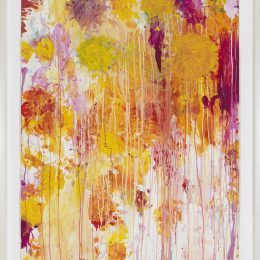 Cy Twombly: In Beauty it is finished. Drawings 1951–2008 @Gagosian West 21st St, New York  - GalleriesNow.net