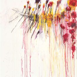 Cy Twombly: Coronation of Sesostris @Gagosian Madison Avenue, New York  - GalleriesNow.net