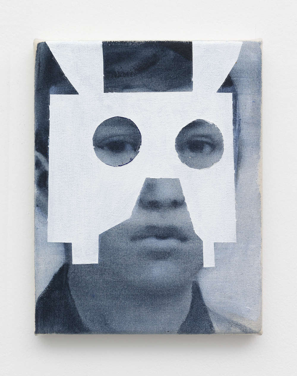 Giulia Andreani, Bambino, 2018. Acrylic on canvas 24 x 19 cm (9.45 x 7.48 inches)