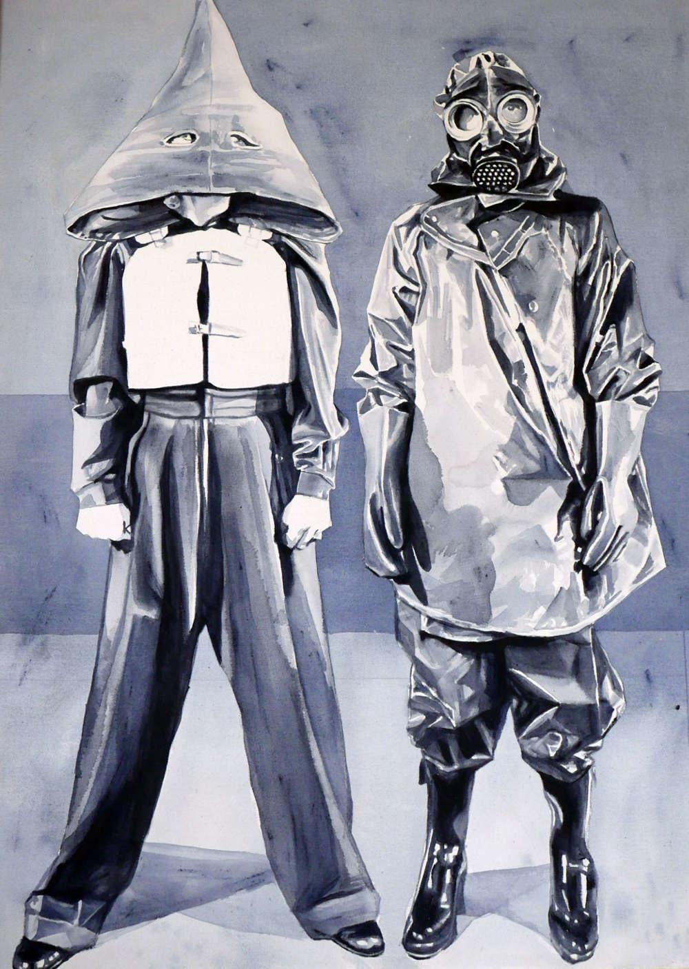 Giulia Andreani, Mammine, 2017. Acrylic on canvas 130 x 97 cm (51.18 x 38.19 inches)