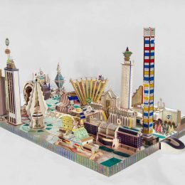 Bodys Isek Kingelez: City Dreams @MoMA, New York, New York  - GalleriesNow.net