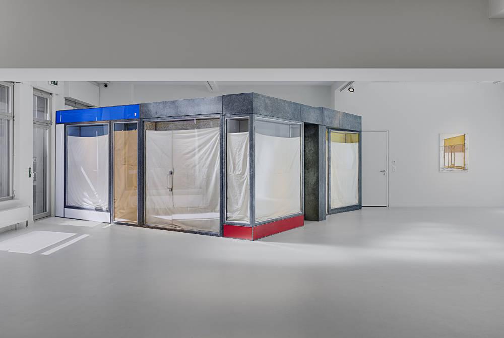 Galerie Gmurzynska Zurich Talstrasse Christo 4